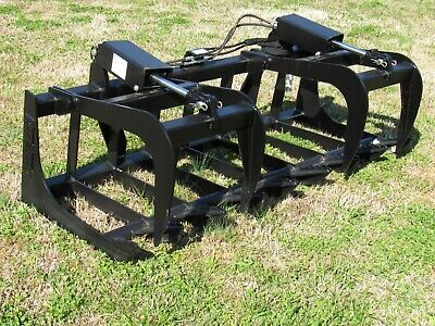 """Global Quicke Euro Tractor Attachment - 72"""" Root Grapple Bucket - $179 Ship!"""