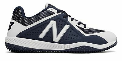 New Balance Low-Cut 4040V4 Turf Baseball Cleat Mens Shoes Navy With White