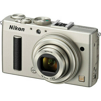 Nikon Coolpix A Digital Camera - Silver