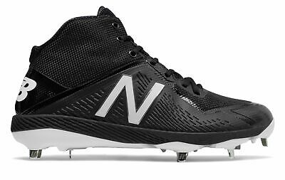 New Balance Mid-Cut 4040v4 Metal Baseball Cleat Mens Shoes Black