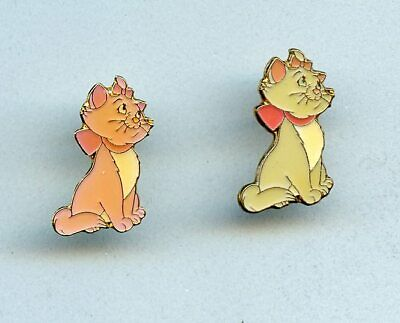 Disney The Aristocats Kitten Marie Prototype Mini Pin Set from 1995
