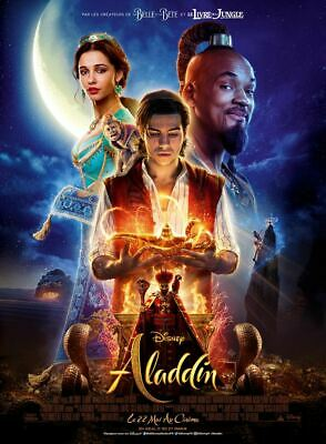 ALADDIN disney - Affiche cinema 40X60 - 120x160 Movie Poster
