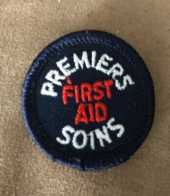 Girl Guides Of Canada First Aid/Premiers Soins Badge (Guides)