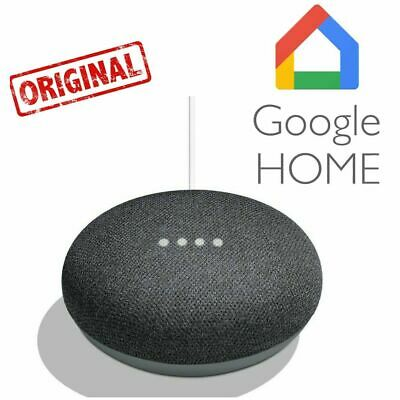 Google Home Mini Assistant Vocal Version Originale Boîtier Google Noir