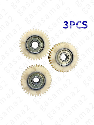 3Pcs 36T E-bike Wheel Hub Motor Planetary Gears/&Bearing Spare For Bafang Motor