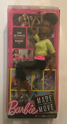 Brand New in Package Ultimate Posable Barbie Doll Made to Move