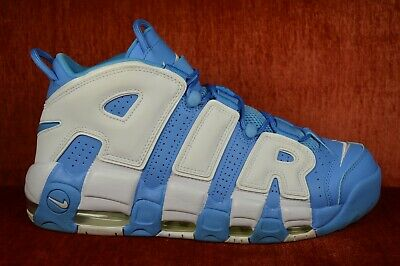 0a01a72ccd CLEAN Nike Air More Uptempo '96 UNC University Blue White Size 11 921948-401
