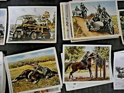 e29ff76954b 125 German Army Navy Air Force Cavalry Cigarette Cards Photos 1936 Wehrmacht  Ww2