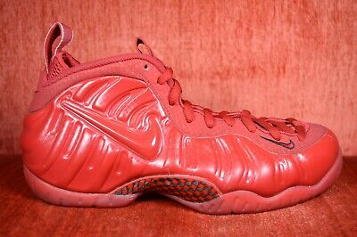 NIKE AIR FOAMPOSITE PRO ONE RETRO GYM RED OCTOBER SIZE 10