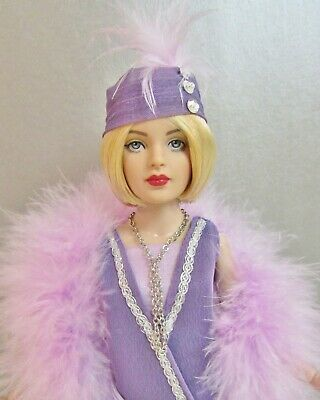 """Tonner 10"""" Tiny Kitty Collier FLAPPER Doll with Bending Arms in 1920's Outfit"""