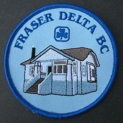 Girl Guides Canada Fraser Delta British Columbia B.c. Patch Brownies Scouts