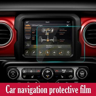 "2pcs 8.4"" Screen Protector for 2018 Jeep JL Film Media Center Navigation Touch"