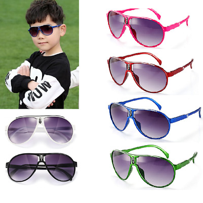 Fashion Anti-UV Sunglasses Kids Boys Baby Girls Summer Goggles Glasses Eyewear
