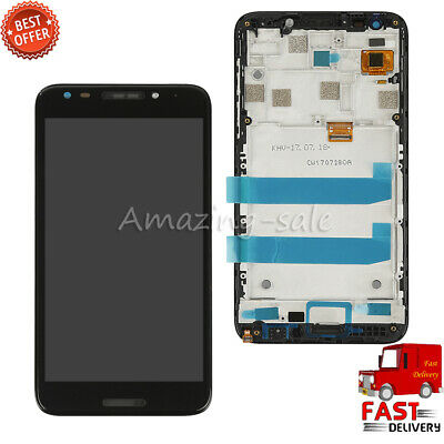 New For Alcatel Revvl 5049W 5049Z LCD Display Touch Screen Digitizer Part Frame