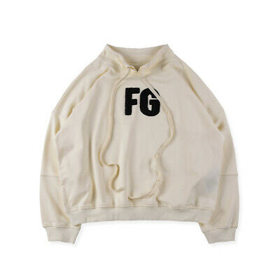 Unisex Hoody Fear of God 6TH Small High Collar Sweatshirts FOG Hooded Hoodie