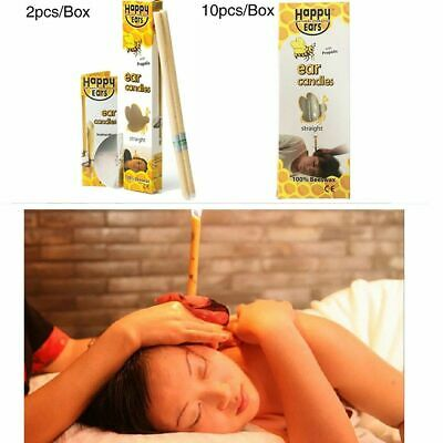 Hopi Ear Candling Natural Beeswax Excellent Quality Wax Candles USA