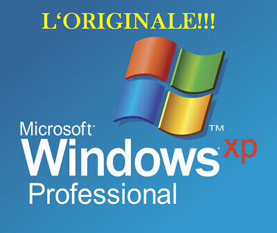 Microsoft Windows Xp Professional Pro 32 Bit Sp3 Con C0Dice Key Licenza Per Pc