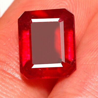 4.7ct Natural Mozambique Pigeon Blood Red Ruby Faceted Cut Uqhb312 Natural Rubies