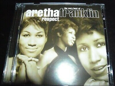 Aretha Franklin ‎– Respect (The Very Best Of Aretha Franklin) 2 CD - Like New