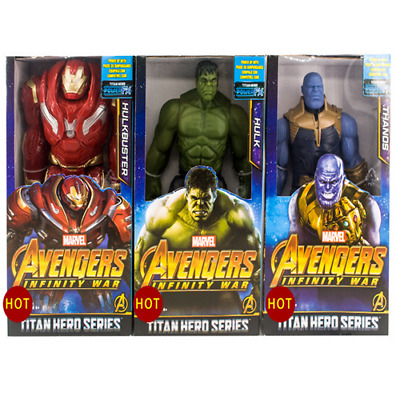 Decor Marvel The Avengers Superheld Spiderman Action Figuren Spielzeug 30 CM