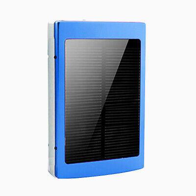 50000mAh Backup External Battery USB Power Bank Pack Charger for Cell Phone Blue