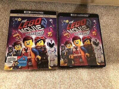 The Lego Movie 2:The Second Part 4K Ultra HD 1 Disc Set(No Digital)