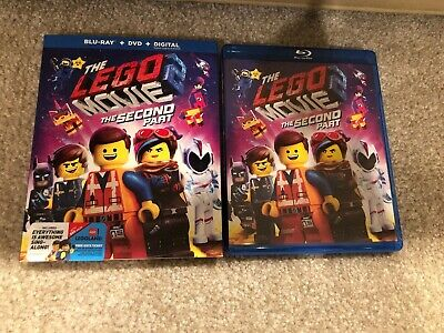 The Lego Movie 2:The Second Part Bluray 1 Disc Set ( No Digital )