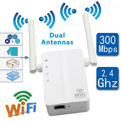 Wifi 300Mbp routeur WiFi repeteur amplificateur sans fil Wireless Signal Booster