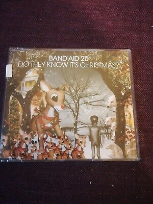 Band Aid 20 – Do They Know It's Christmas? 3 track CD single very good condition