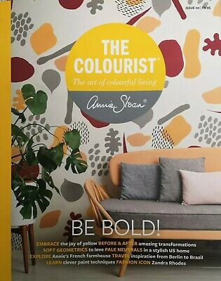 The Colourist. The Art of Colourful Living by Annie Sloan. Issue 02