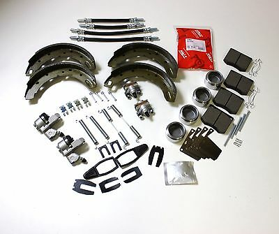 Brake Overhaul Set Front & Rear Triumph Tr6 (M16 Type Calipers)