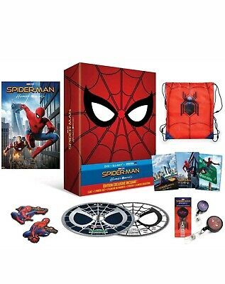 Spider-Man Homecoming Blu-ray + DVD + Goodies - Édition Exclusive Collector