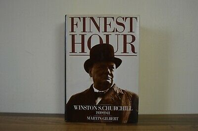 Churchill, Winston - Finest Hour - Martin Gilbert Heinemann 1983 First Edn (C)