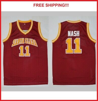 online store 86dca 5c97e STEVE NASH #7 Team Canada Basketball Jersey New Red - Any ...