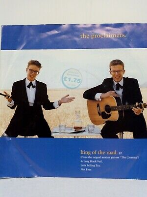 """The Proclaimers """"King Of The Road"""" EP."""