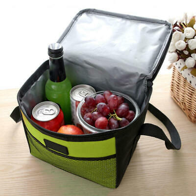 1Pcs 5L Large Insulated Lunch Bag Cooler Picnic Travel Food Box Tote Carry Bags