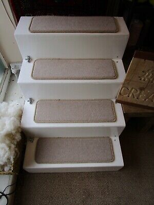 15 Luxury Steps stain resistant carpet stair pads 60cm x 20cm Beige