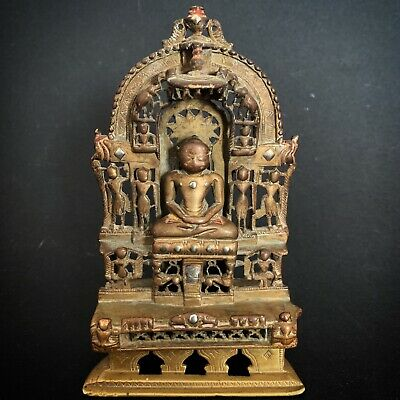 Indien Antique Indian Hindu Bronze Jain Buddha China Nepal Krishna Shiva Ganesha