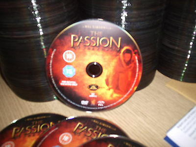 """Joblot Of 50 Dvd  New """"the Passion Of The Christ"""" Disc Only In Wallets £3 Uk P&p"""