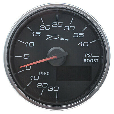 Boost digital gauge 60mm - 0-40 PSI - full 240 degree sweep - Depo Racing brand
