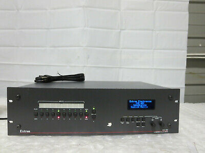 Extron ISM 482 8x2 Eight In/2 Out Integration Scaling Matrix Switcher+Power Cord
