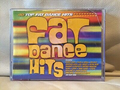 Fat Dance Hits - 40 Hits - 1999 Double Tape - Electro Euro Garage House Big Beat
