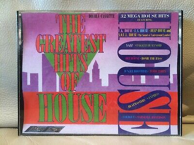 The Greatest Hits Of House - 1988 Double Tape Acid House Hip-House Garage House