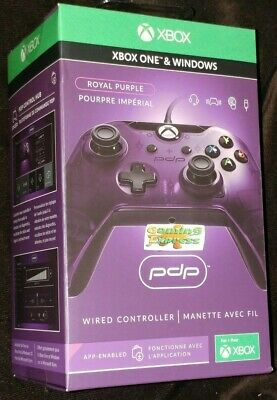 Royal PURPLE Wired Controller Officially Licenced XBOX ONE X S & PC SEALED PDP