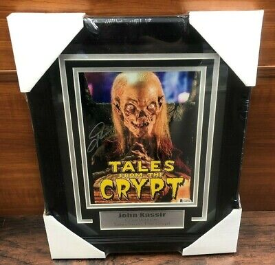 JOHN KASSIR Autographed Signed & Framed 8x10 Photo Tales of the Crypt  BAS