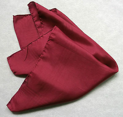 Vintage Handkerchief SILK Hankie Mens Top Pocket Square