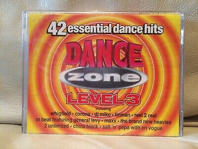 Dance Zone Level 3 - 42 Hits - 1994 Tape House Euro House Eurodance Synth-pop