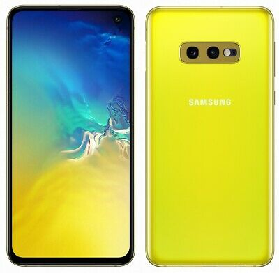 "Samsung Galaxy S10e 128GB SM-G970F/DS Dual (FACTORY UNLOCKED) 5.8"" Canary Yellow"