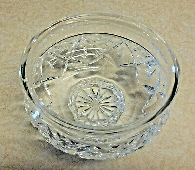"""Waterford Crystal Footed Pedestal Candy Dish / Nut Bowl / Rose Bowl 5 3/8"""""""