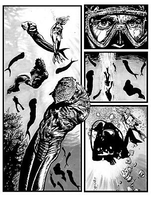 Bloke's Terrible Tomb Of Terror #10 'Beneath The Surface' Pg3 Art By Rob Moran